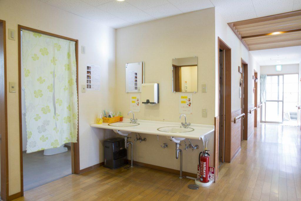 小規模多機能ホーム 洗面所